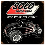 SOLO Speed Shop '32 Sign