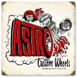 Astro Custom Wheels Sign
