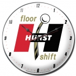 Hurst Gold Floor Shift Clock