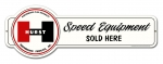 Hurst Speed Equipment Vintage Metal Sign 28