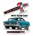 "Royal Racing Team - '65 GTO Sign 21""x18"""