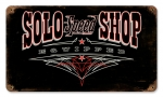 SOLO Speed Shop Sign